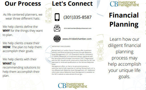 CB Investment Management Financial Planning Brochure